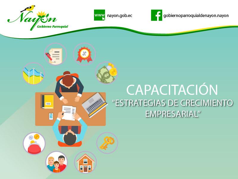 Capacitación de Estrategias de Crecimiento Empresarial