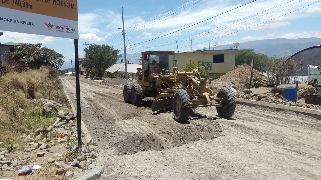 GAD Nayón - Adoquinado Barrio El Valle
