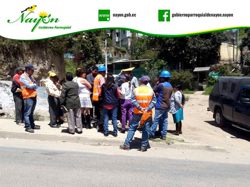 Proyecto de Captación del Agua de la quebrada de San Vicente
