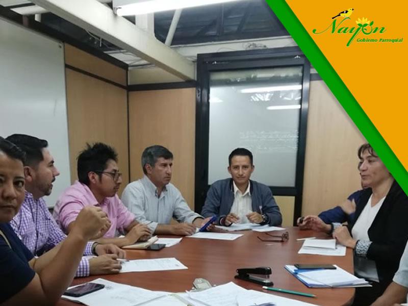 Vocal de Cultura asistió a la reunión de la Administración Eugenio Espejo para tratar temas relativos al festival cultural