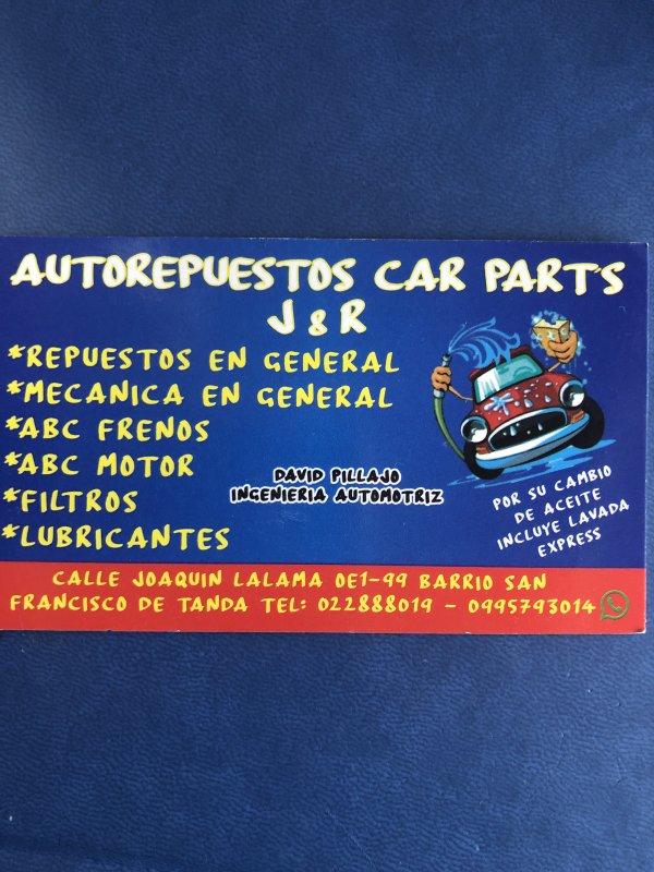 Autorepuestos CAR PARTS JR