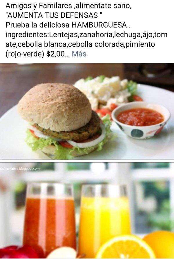 Las Hamburguesas saludables