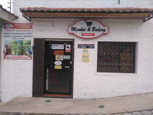Market y Bakery micromercado y panaderia