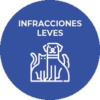 Infracciones Leves - Tenencia, Proteccióny control de la Fauna Animal