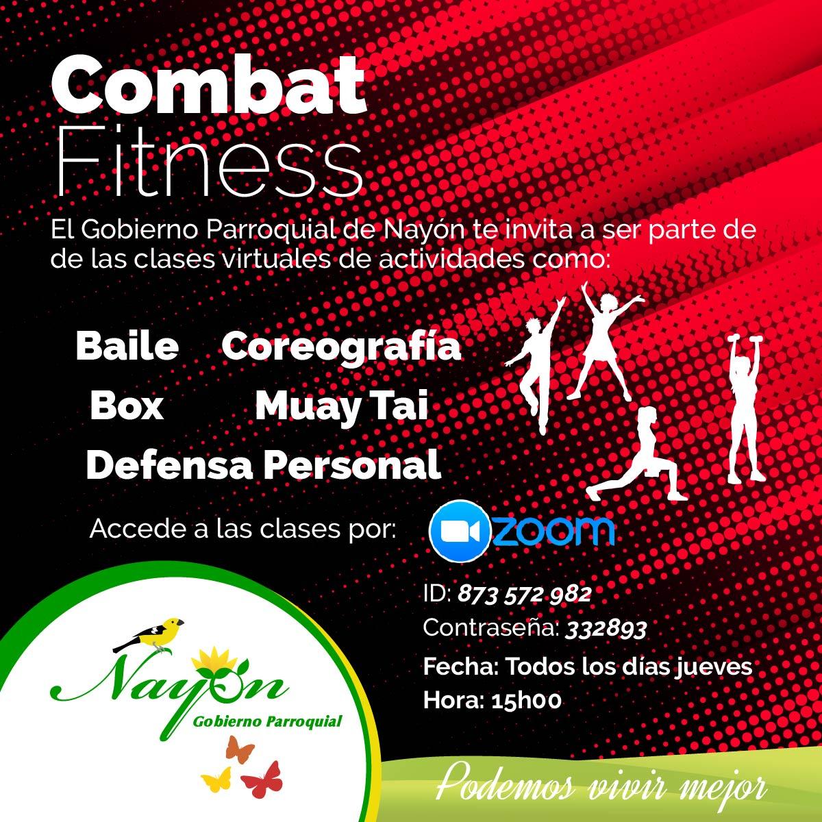 Clases Virtuales de Combat Fitness