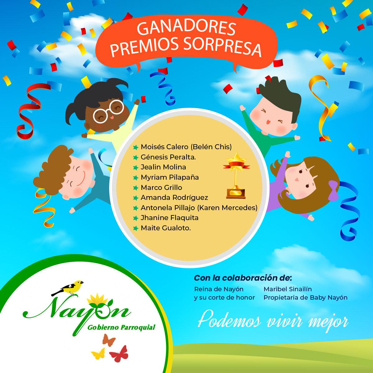 Ganadores Día del Niño