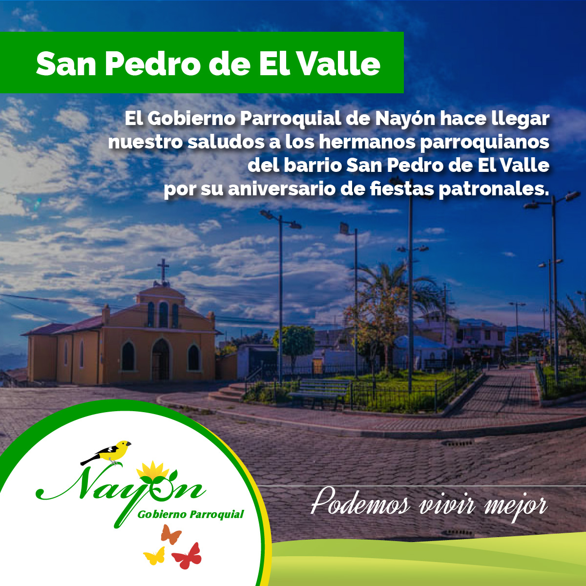 Fiestas Patronales San Pedro de El Valle