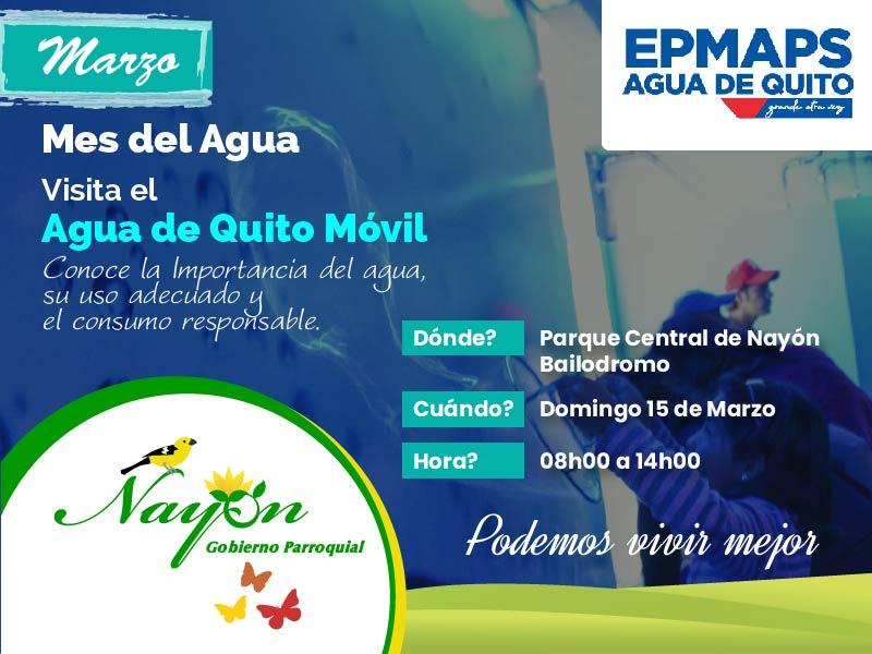 Agua de Quito Móvil - GAD NAyón