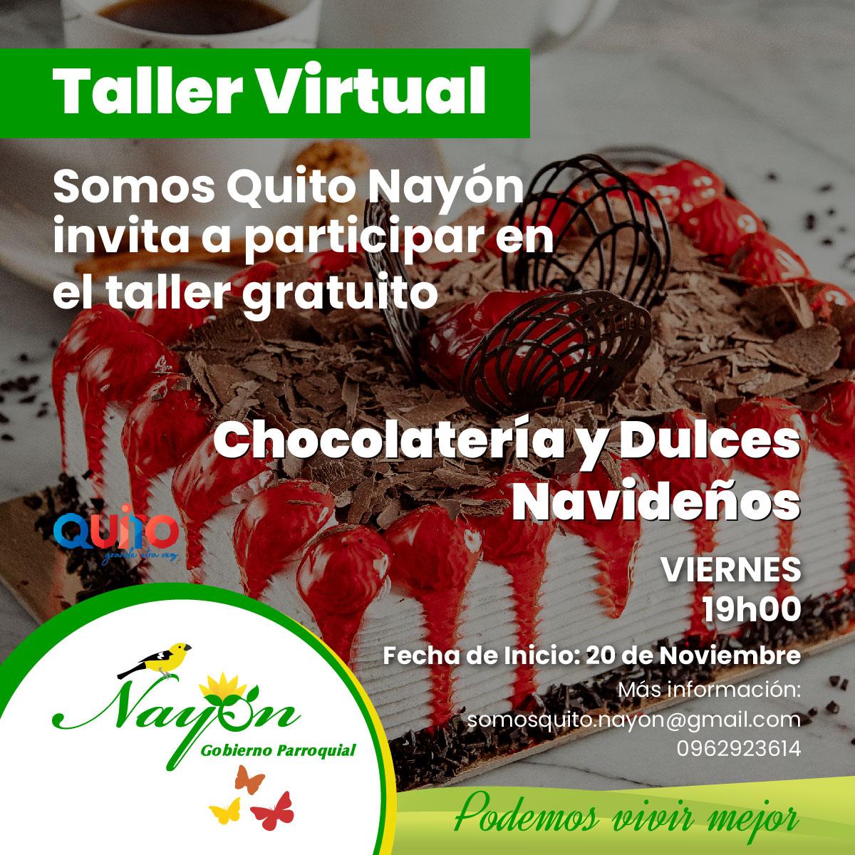 Talleres Virtuales Somos Quito Nayón