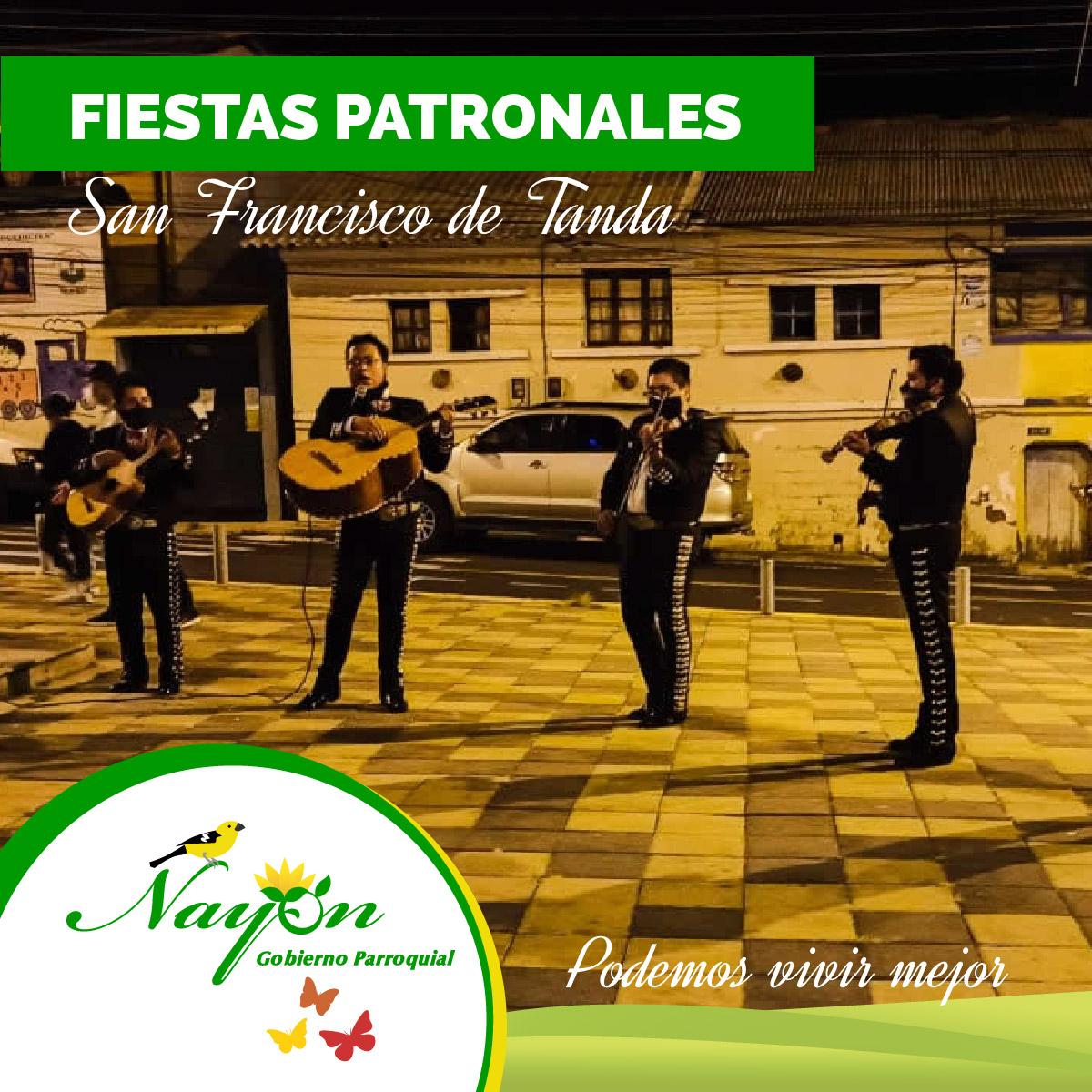Fiestas PAtronale sSan Francisco de Tanda- Nayón