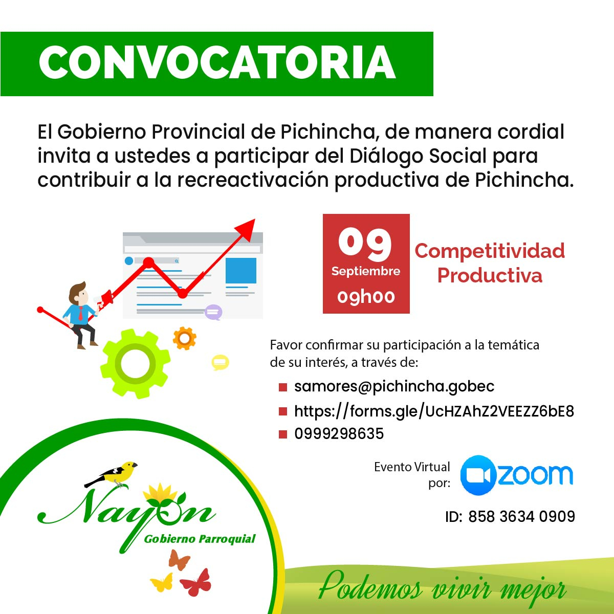 Convocatoria Competitividad Productiva
