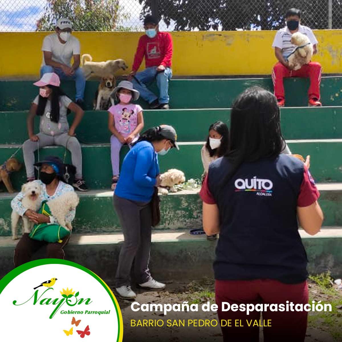 Campaña de Desparasitción - Barrio San Pedro de El Valle y San Vicente