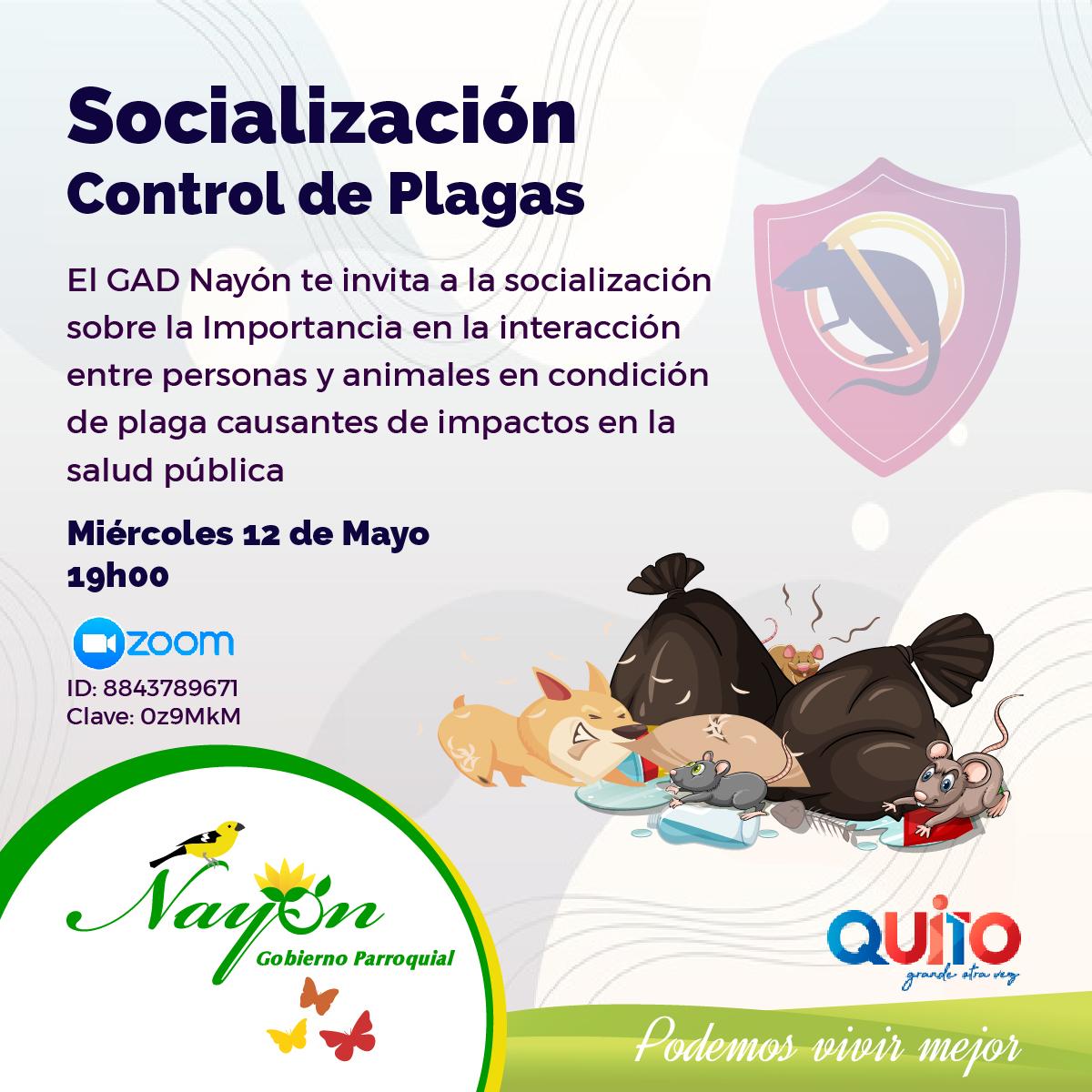 Socialización Control de Plagas