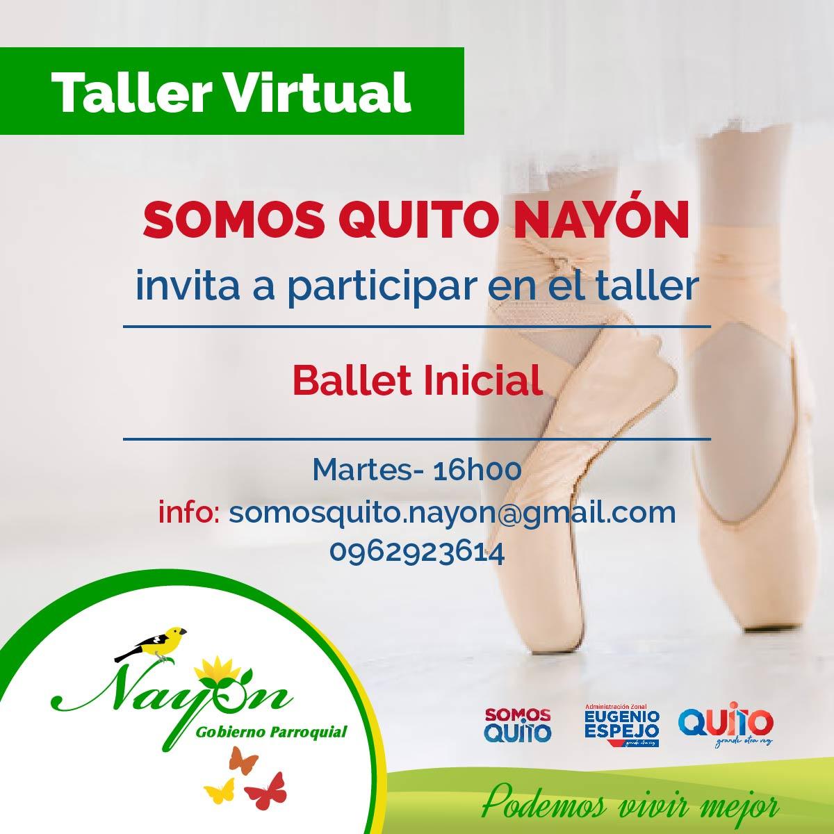 Taller Virtuales - Somos Quito Nayón