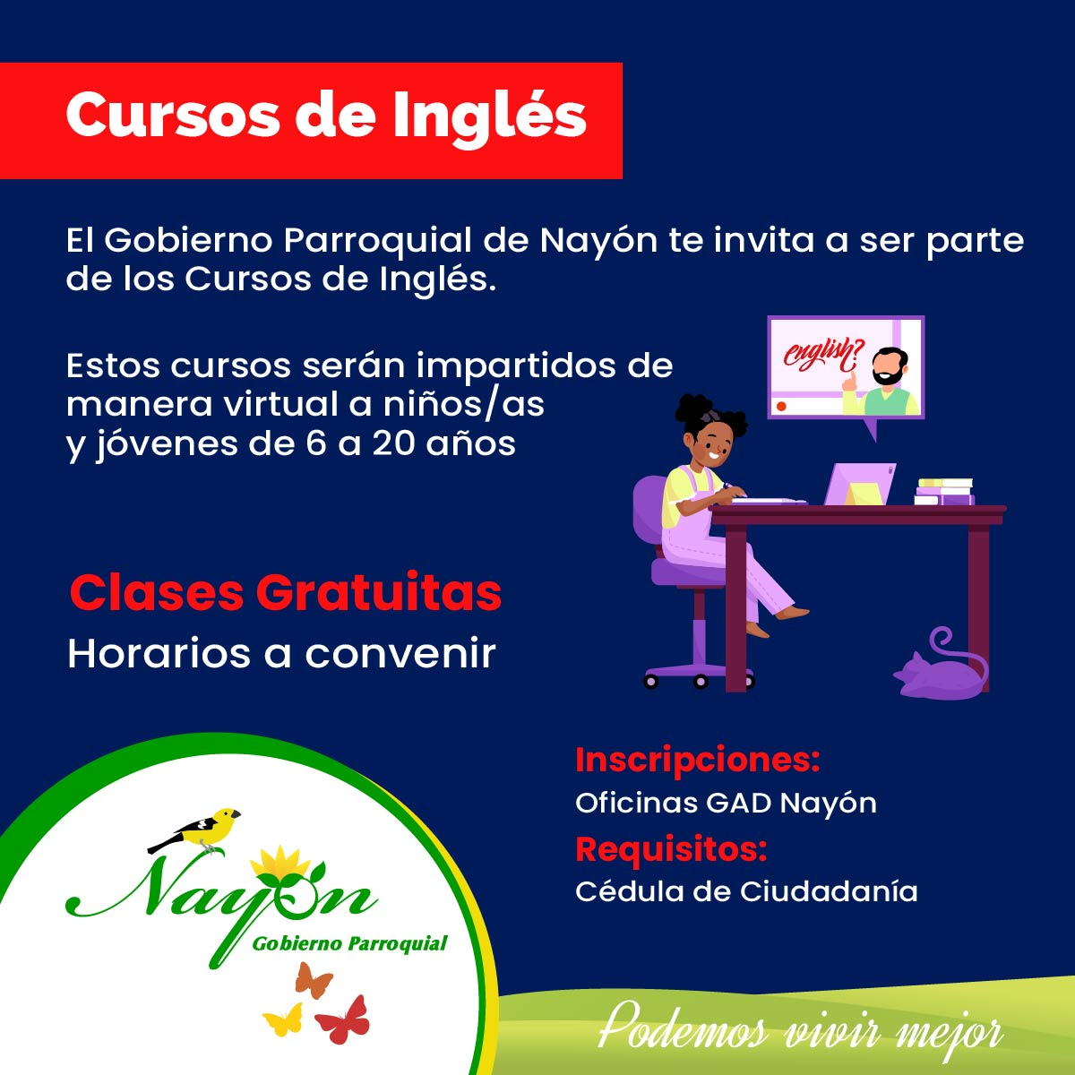 Cursos Gratuitos de Inglés