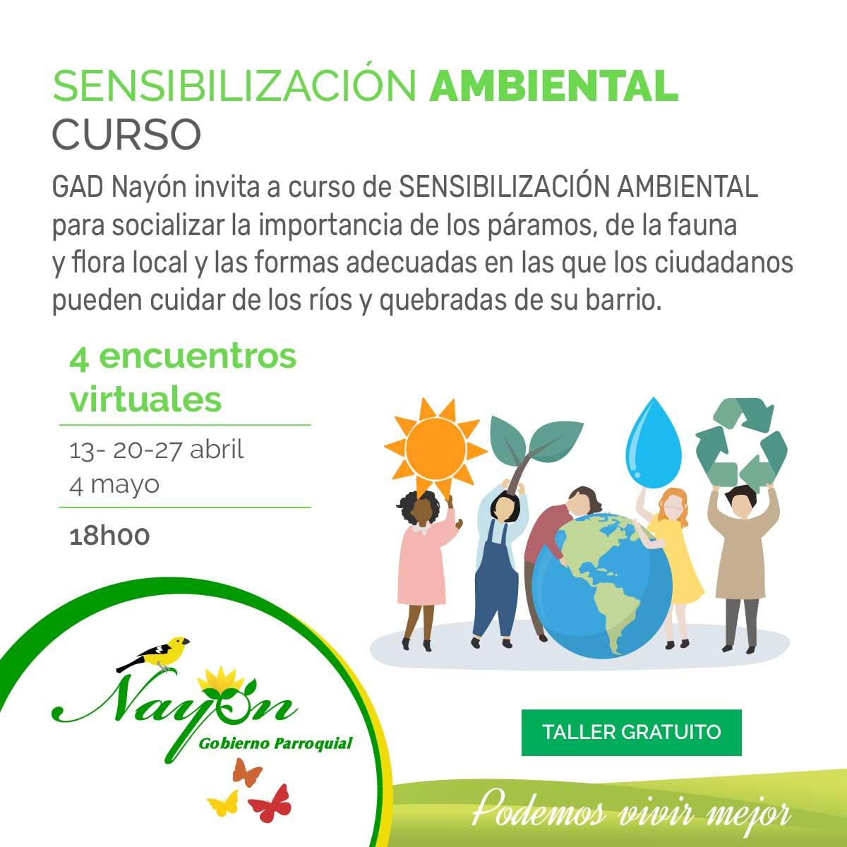 Curso Sensibilización ambiental