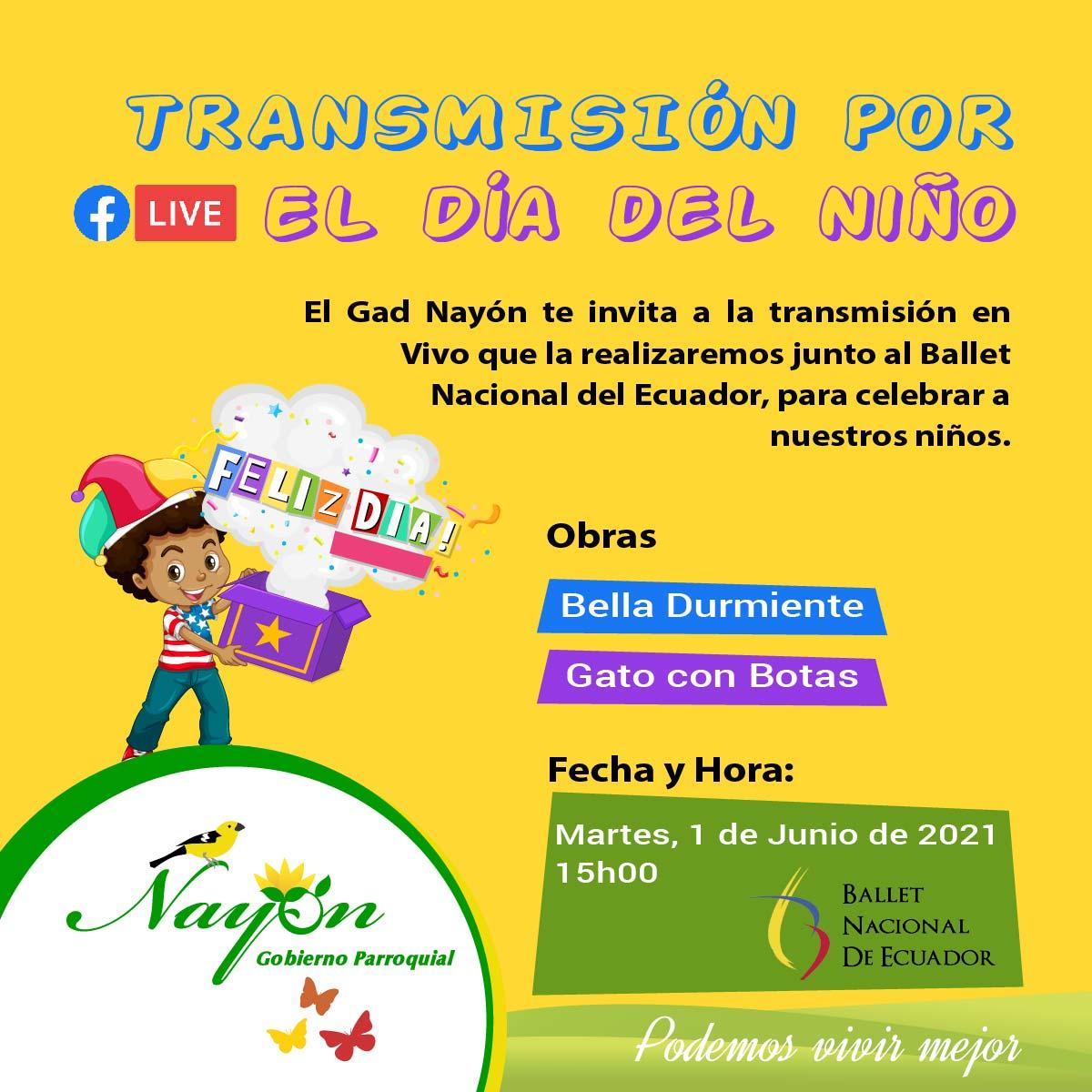 Transmisión en Vivo por el Día del Niño