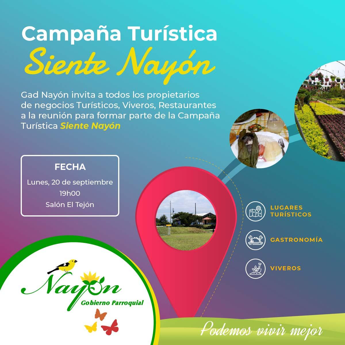 Campaña Turística Siente Nayón